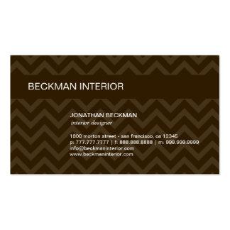 Sheer Chevron Business Card Business Card Templates