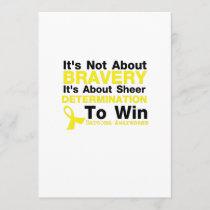 Sheer Determination To Win Sarcoma Awareness