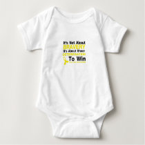 Sheer Determination To Win Sarcoma Awareness Baby Bodysuit