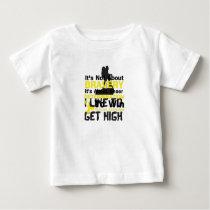 Sheer Determination To Win Sarcoma Awareness Baby T-Shirt