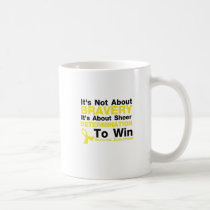 Sheer Determination To Win Sarcoma Awareness Coffee Mug