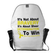 Sheer Determination To Win Sarcoma Awareness Courier Bag