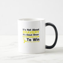 Sheer Determination To Win Sarcoma Awareness Magic Mug