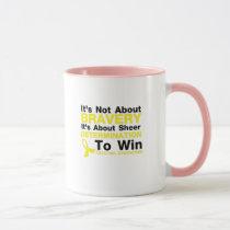 Sheer Determination To Win Sarcoma Awareness Mug