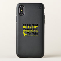 Sheer Determination To Win Sarcoma Awareness Speck iPhone X Case