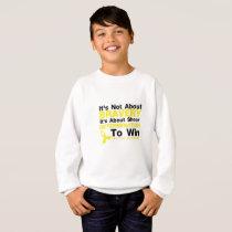 Sheer Determination To Win Sarcoma Awareness Sweatshirt
