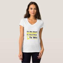 Sheer Determination To Win Sarcoma Awareness T-Shirt