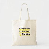 Sheer Determination To Win Sarcoma Awareness Tote Bag