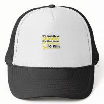 Sheer Determination To Win Sarcoma Awareness Trucker Hat