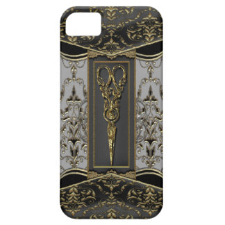 Sheer Hazlehurst Antiqued Scissors V iPhone SE/5/5s Case
