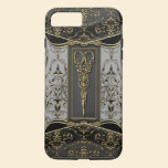 Sheer Hazlehurst Antiqued Scissors VII iPhone 7 Plus Case