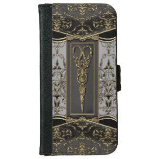 Sheer Hazlehurst Antiqued ScissorsIV Wallet Phone Case For iPhone 6/6s
