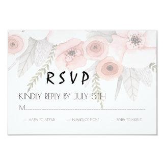Sheer Love RSVP Card