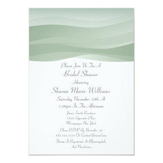 Sheer Myst Bridal Shower Invitations