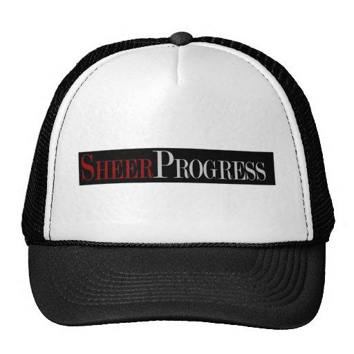 Sheer Progress Apparel Mesh Hats