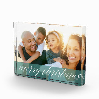 Photo Blocks - Sheer Spruce Christmas Photo Block