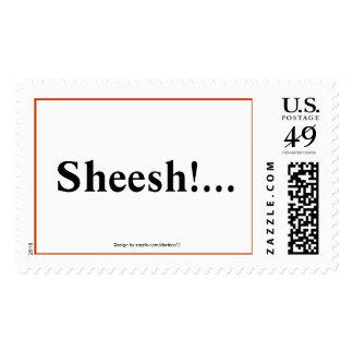 Sheesh!... Postage Stamps
