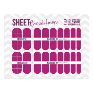 Sheet Breakdown Anatomy of a Sheet Postcards