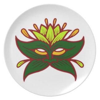Sheet mask leaf MASKs Party Plates