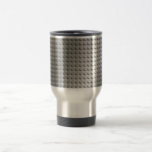 Sheet Metal 15 Oz Stainless Steel Travel Mug