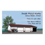 Sheet Metal Building Business Card