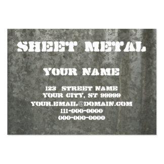 Sheet Metal Large Business Card