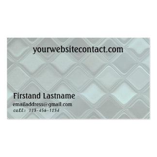Sheet Metal Tiles Customizable Business Cards