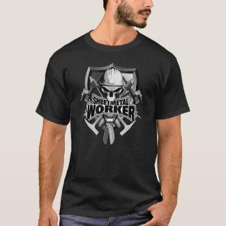 Sheet Metal Worker Skull T-Shirt