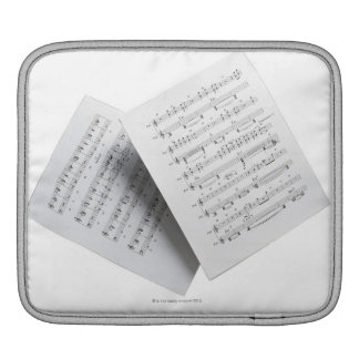 Sheet Music 12 Sleeves For iPads