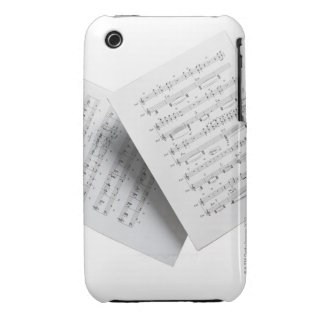 Sheet Music 12 iPhone 3 Case-Mate Case
