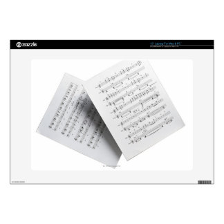 Sheet Music 12 Laptop Skin