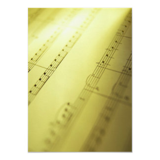 Sheet Music 2 Card