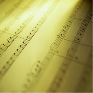 Sheet Music 2 Cutout