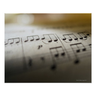 Sheet Music 4 Posters