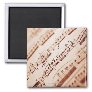 Sheet Music 5 Magnet