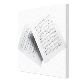 Sheet Music 6 Canvas Prints