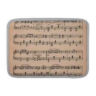 Sheet Music 6 MacBook Sleeve