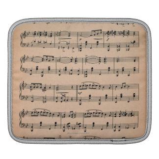 Sheet Music 6 iPad Sleeve
