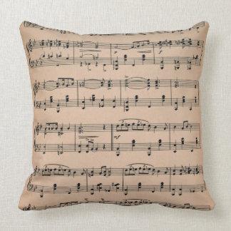 Sheet Music 6 Pillow