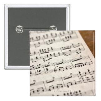 Sheet Music 7 Button