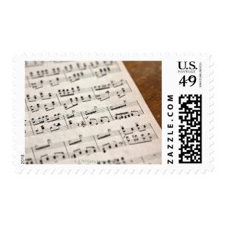 Sheet Music 7 Postage