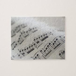 Sheet Music 9 Jigsaw Puzzles