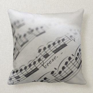 Sheet Music 9 Throw Pillow