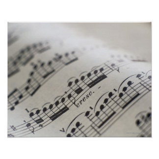 Sheet Music 9 Posters