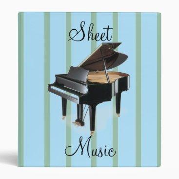 Toddler & Baby themed Sheet Music Binder
