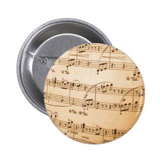 Sheet Music Buttons
