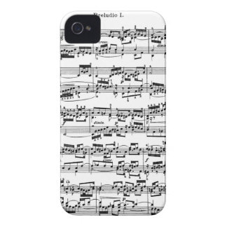 Sheet Music by Bach iPhone 4 Cover