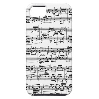 Sheet Music by Bach iPhone SE/5/5s Case
