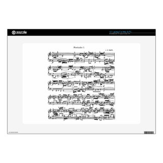"""Sheet Music by Bach Skin For 15"""" Laptop"""