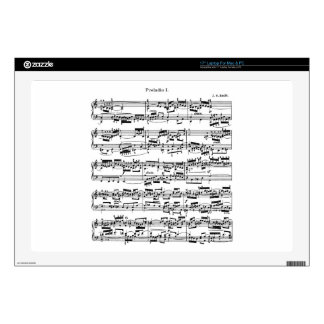 """Sheet Music by Bach Skins For 17"""" Laptops"""